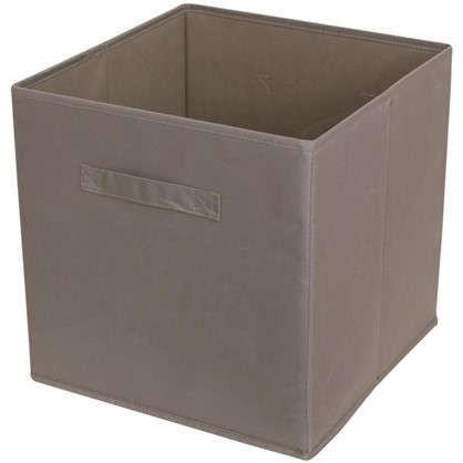 Короб 31x31x31 см полиэстер цвет коричневый