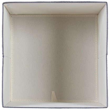 Короб 31x31x31 см полиэстер цвет серый