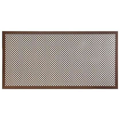 Купить Короб декоративный для радиатора Глория 60х120 см цвет орех дешевле