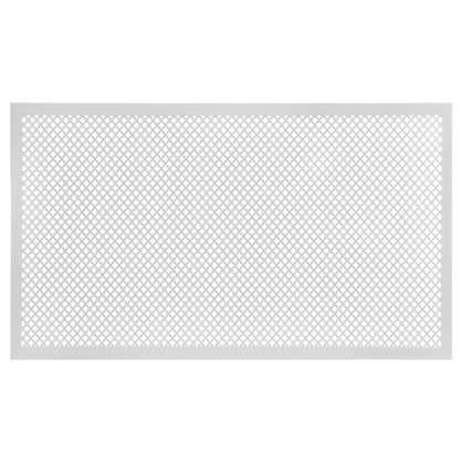 Купить Короб декоративный для радиатора Глория 60х90 см цвет белый дешевле
