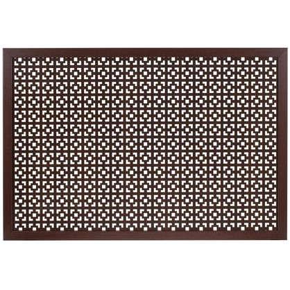 Купить Короб декоративный для радиатора Верон 60х90 см цвет венге дешевле