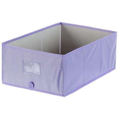 Купить Короб Spaceo без крышки 27х16x44 см нетканный материал цвет фиолетовый дешевле