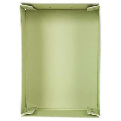 Коробка 31x13x22.5 см картон цвет зеленый