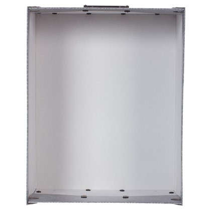 Коробка 39х24x50 см картон цвет серый