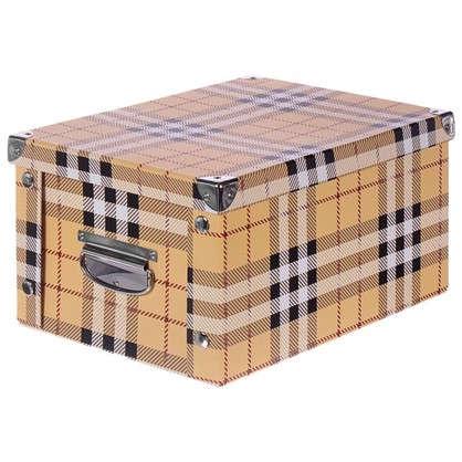 Коробка картон 30x20x15 см клетка