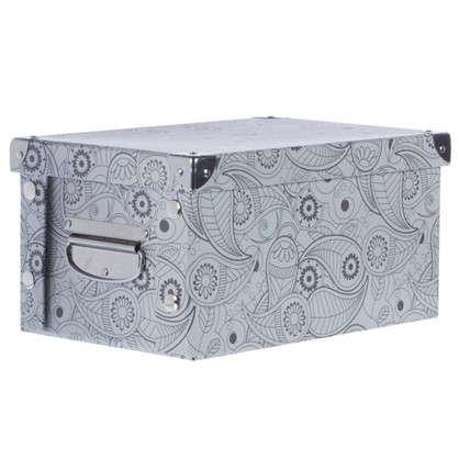 Коробка картон 30x20x15 см узор