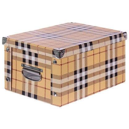 Коробка картон 30x25x17.5 см клетка