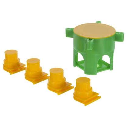 Коробка монтажная универсальная для монолитных стен с крышкой