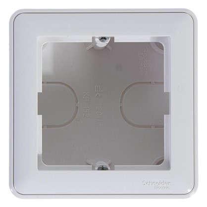 Коробка подъемная W59 одноместная цвет белый