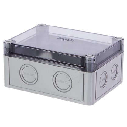 Купить Коробка приборная с низкой крышкой со степенью защиты IP65 дешевле