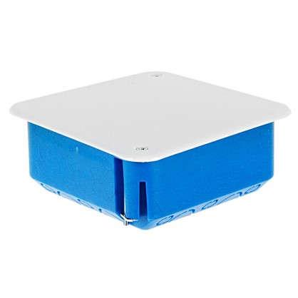 Коробка распределительная 100х100х45 мм цвет синий
