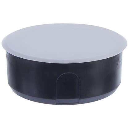 Коробка распределительная для сплошных стен 100х40 мм