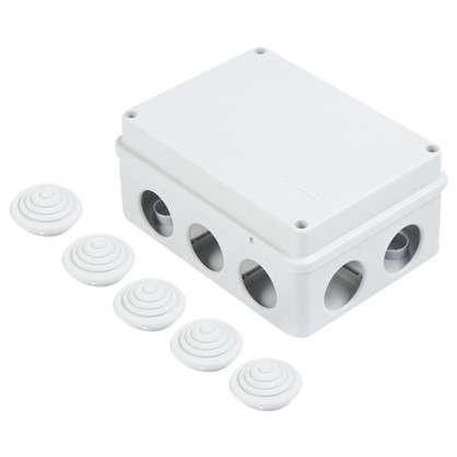Коробка распределительная Экопласт 150х110х7 0мм цвет серый IP55