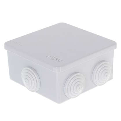 Коробка распределительная HP 80 85х85х40 мм цвет серый
