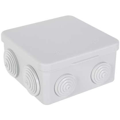Коробка распределительная HP 90 100х100х50 мм цвет серый