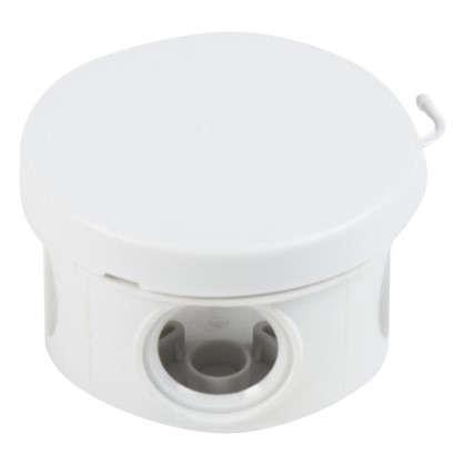 Коробка распределительная круглая TDM 65х40 мм цвет серый IP54