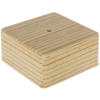 Купить Коробка распределительная ОП 100х100х50 мм цвет сосна дешевле