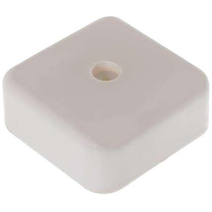 Купить Коробка распределительная ОП 50х50х20 мм цвет белый дешевле