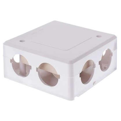 Коробка распределительная ОП 90х90х42 мм с клемником IP44