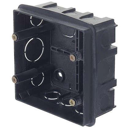 Коробка распределительная Plast Electro Anam 100х100х50 мм цвет чёрный