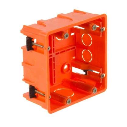 Коробка распределительная Plast Electro Anam 100х100х50 мм цвет оранжевый
