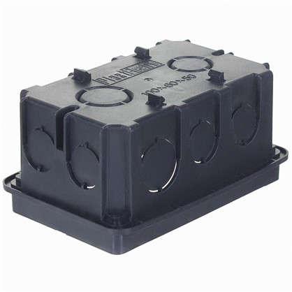 Коробка распределительная Plast Electro Anam 100х60х50 мм цвет чёрный