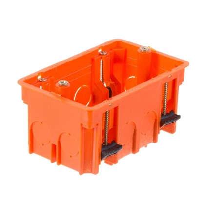 Коробка распределительная Plast Electro Anam 100х60х50 мм цвет оранжевый