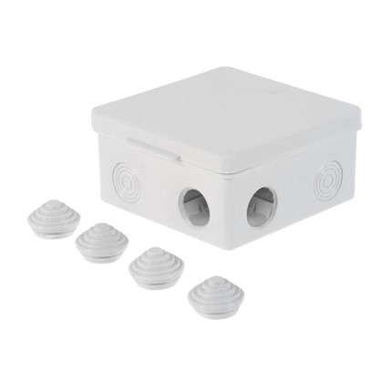 Коробка распределительная TDM 100х100х55 мм цвет серый IP54