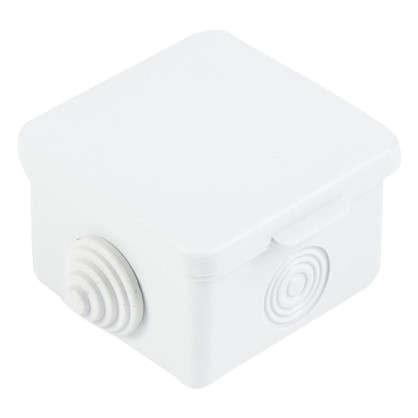 Коробка распределительная TDM 65х65х50 мм цвет серый IP54