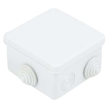 Коробка распределительная TDM 80х80х50 мм цвет серый IP54