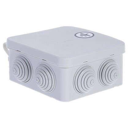Коробка уравнивания потенциалов 100х100х50 открытой установки