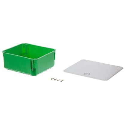 Коробка уравнивания потенциалов 156х136х68 в полые стены