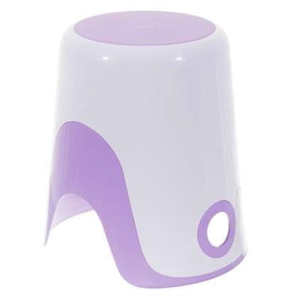 Купить Корзина для белья 2 в 1 цвет фиолетовый дешевле