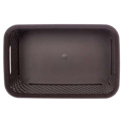 Купить Корзина для хранения Ротанг 4 л 28х18.5х12.6 см цвет коричневый дешевле