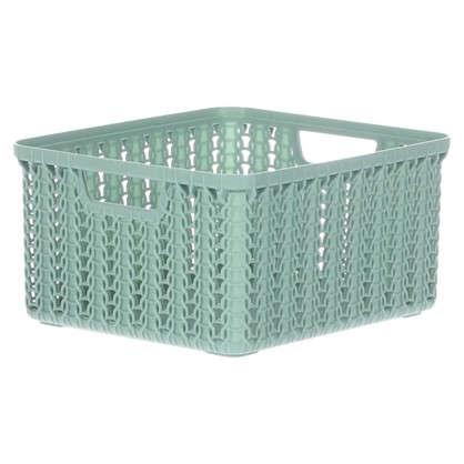Купить Корзина для хранения Вязание 1.5 л цвет фисташковый дешевле