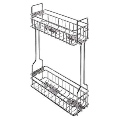 Корзина для верхнего шкафа 150 vм с металлическим доводчиком