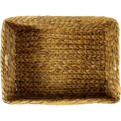 Корзина стеллажная Золотое Плетение L 440х220х330 мм 30 л цвет бежевый