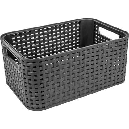 Купить Корзина Style Box S цвет темно-коричневый дешевле