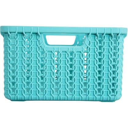 Корзинка для хранения Вязание 1.5 л цвет морская волна