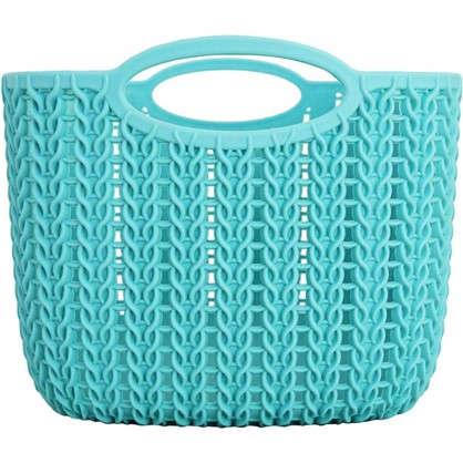 Корзинка для хранения Вязание 4 л цвет морская волна