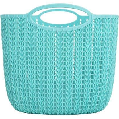Корзинка для хранения Вязание 7 л цвет морская волна