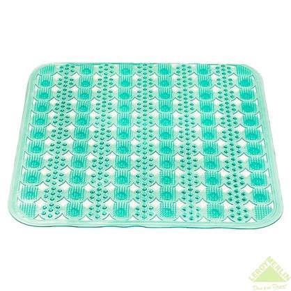 Коврик для душа массажный 43х45 см цвет в ассортименте