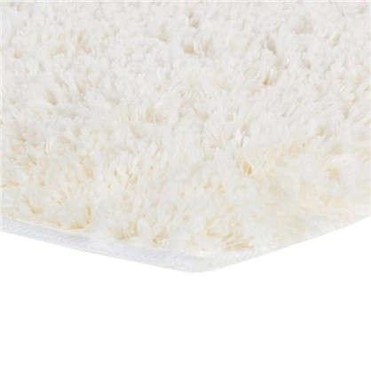 Коврик для туалета 55х55 см цвет белый