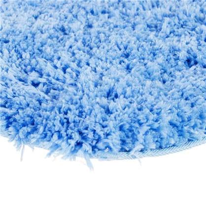 Коврик для туалета 55х55 см цвет синий