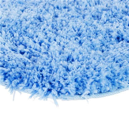 Купить Коврик для туалета 55х55 см цвет синий дешевле