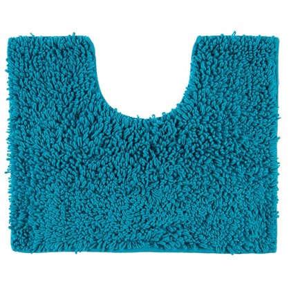 Купить Коврик для туалета Crazy 50x40 см цвет голубой дешевле
