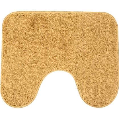 Купить Коврик для туалета Sensea Lounge №3 50х40 см микрофибра цвет бежевый дешевле