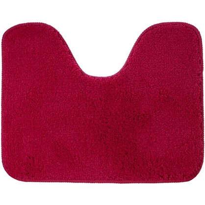 Коврик для туалета Sensea Lounge №3 50х40 см микрофибра цвет розовый