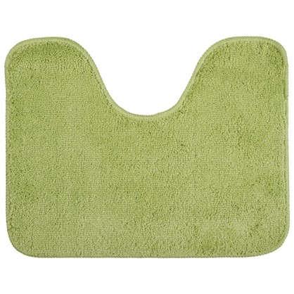 Коврик для туалета Sensea Lounge №3 50х40 см микрофибра цвет зелёный