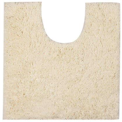 Коврик для туалета Sensea Twist 55х55 см микрофибра цвет белый